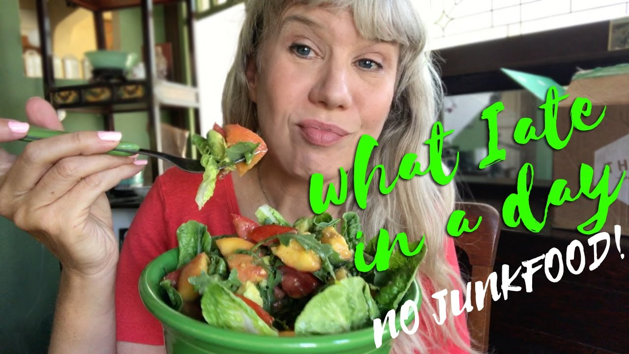 What I Ate In A Day: No Junk Food Edition