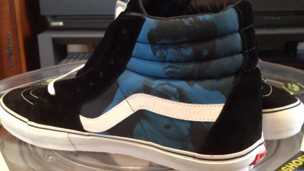 1e093b54eb VANS x Supreme Sk8-Hi Pro - (Bruce Lee) Blue colorway - 10-31-13 ...