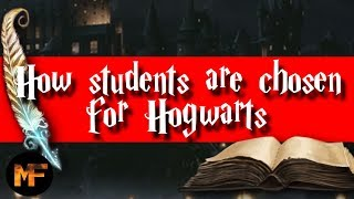 How Students Are Chosen For Hogwarts (Quill of Acceptance & Book of Admittance Origins Explained)