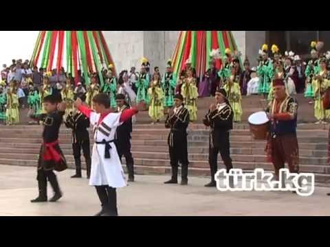 Kırgızistan'da Ahiska Türkleri Geleneksel Şöleni