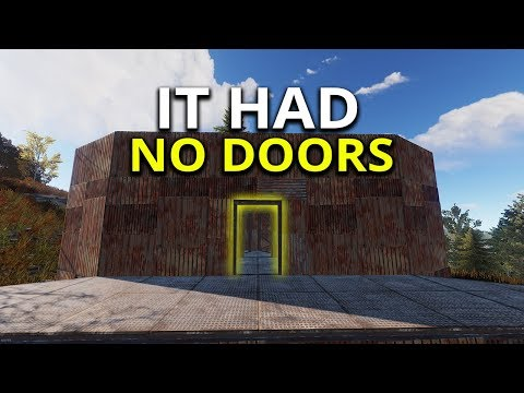 Amazing End Game Base Had No Doors! - Rust Solo Survival SE1 EP2 thumbnail