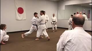 Guy Brodeur 7th Dan - Defending the middle line
