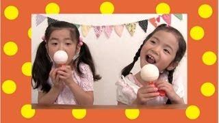 チュッパチャプスでアイスキャンディー♪ Chupa chups ice candy