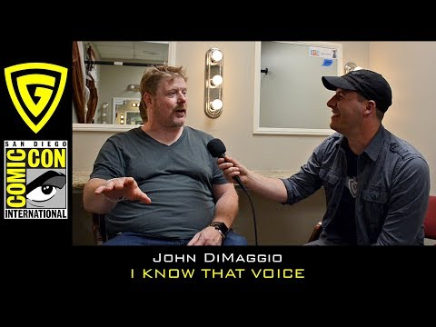John DiMaggio  I Know That Voice  SDCC 2017  The Geek Generation