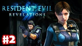 Resident Evil Revelations - Gameplay Walkthrough Part 2 - Double Mystery (3DS, PS3, XBox 360)
