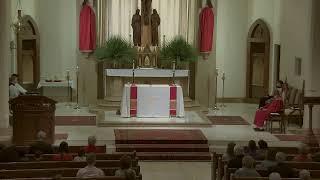 Palm Sunday -  10:30 AM Sunday Mass at St. Joseph's (3.28.21)