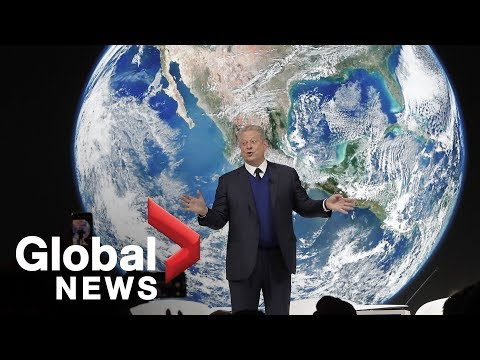 Al Gore's FULL climate change discussion at WEF
