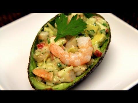 Avocado Shrimp Appetizer Recipe - CookingWithAlia - Episode 209