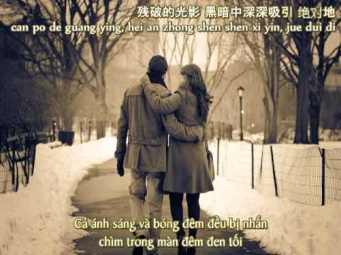 [Vietsub+Pinyin] Let Me Love You - Châu Du Dân ft. Từ Hy Viên (OST MARS - Chiến Thần)
