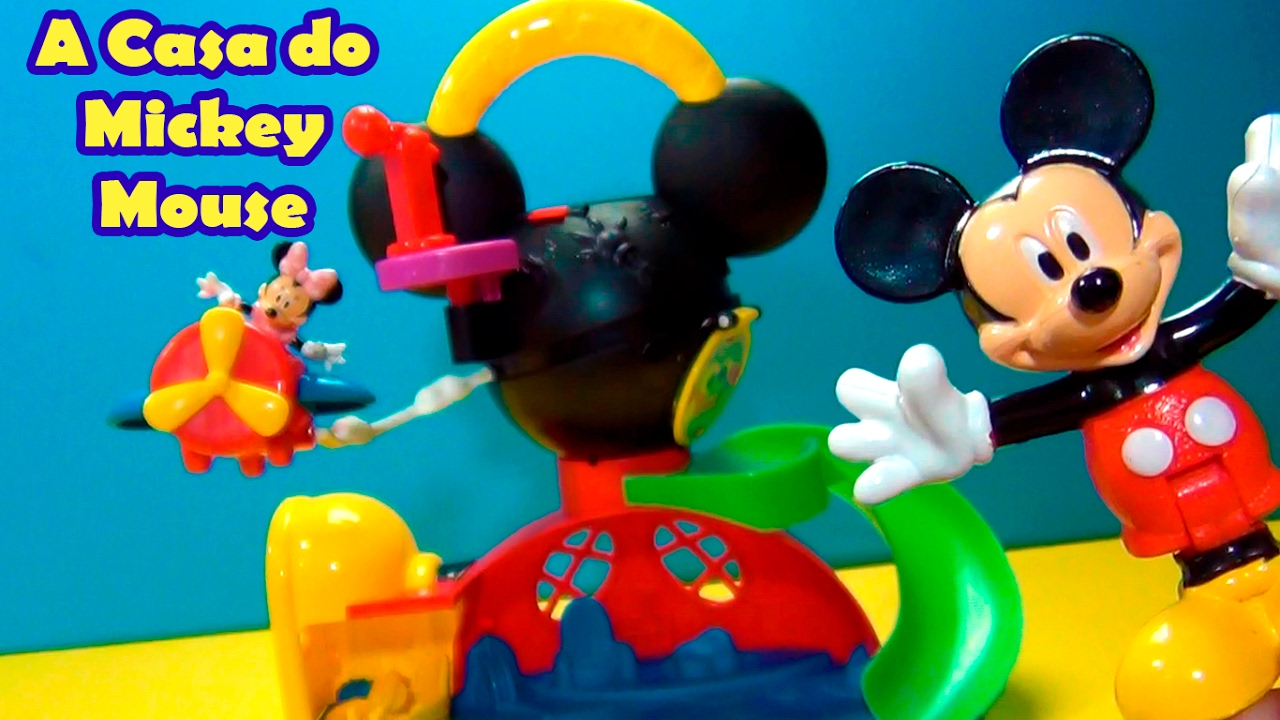 Casa do mickey mouse igual do desenho - Youtube casa mickey mouse ...