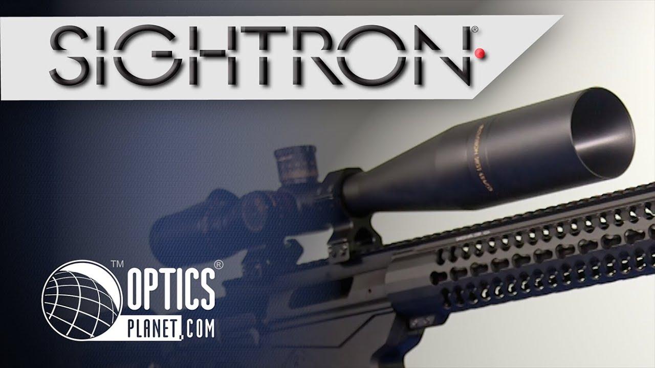 Sightron SIII Riflescope Series