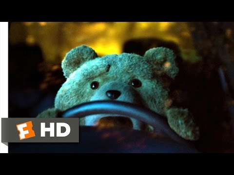 Ted 2 (10/10) Movie CLIP - Ted Wrecks the Car (2015) HD