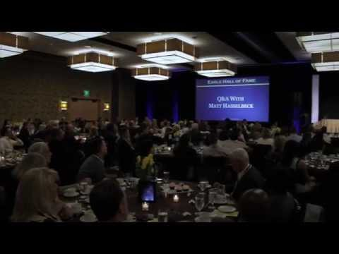 2015 Eagle Hall of Fame Benefit with Matt Hasselbeck