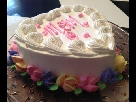 Mini heart cake idea 39 s video 5 youtube - How to decorate a heart cake ...