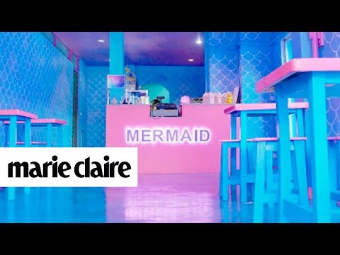 This Mermaid Cafe Might Be the Most Magical Place on Earth | Marie Claire