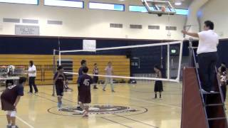 Lawson Middle School at Columbia Middle School Boys 8th Grade Volleyball