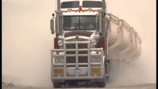 The biggest, longest trucks in the world    Road trains in the Australian Outback
