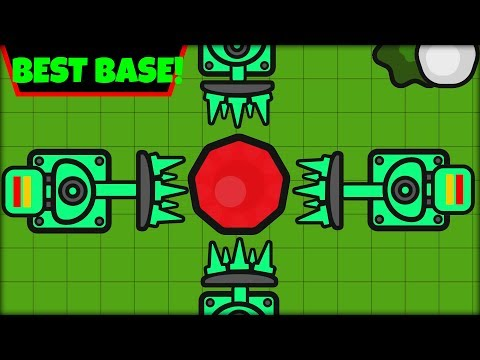ZOMBS.IO BEST BASE EVER! | EMERALD BASE AT WAVE 1 | SOLO BASE (zombs.io update)
