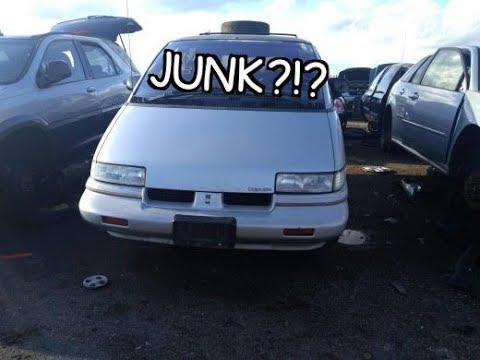 Junkyard Gem: 1991 Oldsmobile Silhouette