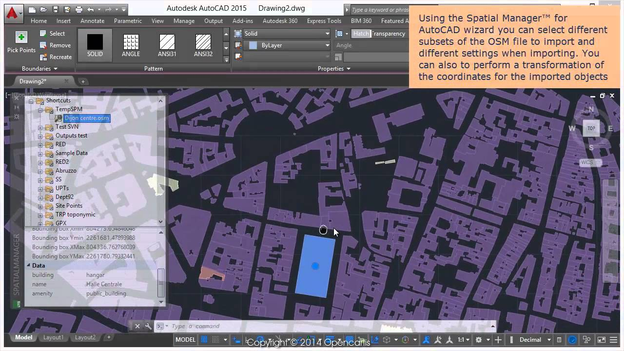Import OpenStreetMap data into AutoCAD drawings - Spatial Manager Blog