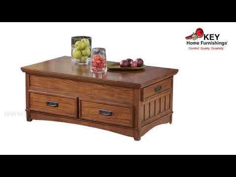 Ashley Cross Island Coffee Table With Lift Top T719 9 | KEY Home
