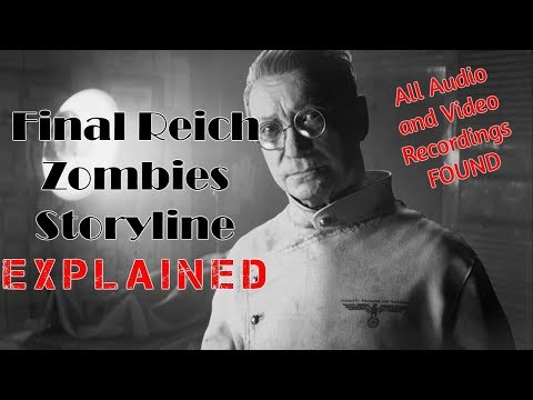 Final Reich Zombies Storyline Explained! All Audio and Video Recordings Found!!