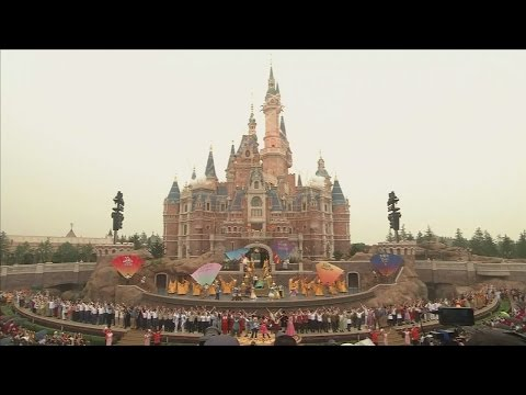 Disney opens new theme park in China after Orlando alligator incident