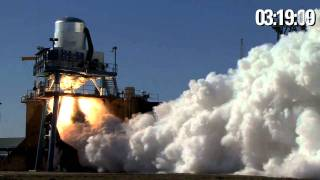SpaceX Testing - Full Duration Orbit Insertion Firing