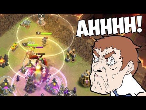 WIESO tut er das?!    Clash of Clans    Special Clan War #2 [Deutsch]
