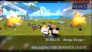Roblox Booga Booga - Briser le coffre infinity