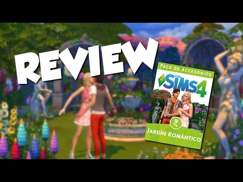 Review pack accesorios fiesta glamurosa los sims 4 for Sims 4 jardin romantico