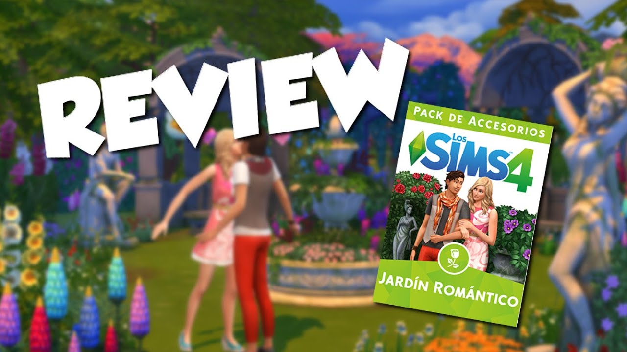 Review los sims 4 pack accesorios jardin romantico youtube for Sims 4 jardin romantico