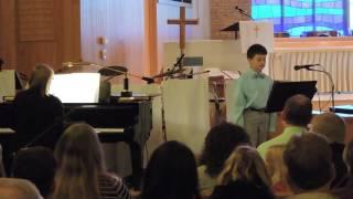 ben sings follow the drinking gourd at faith music academy spring recital april 30 2017