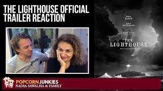 THE LIGHTHOUSE Official Trailer - Nadia Sawalha & The Popcorn Junkies REACTION
