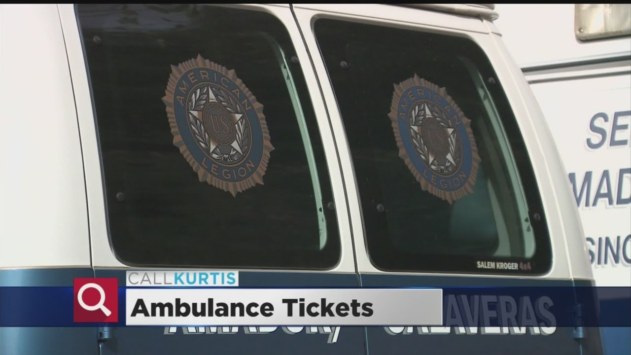 Call Kurtis Investigates: Stores Selling 'Ambulance Tickets' Don't Know  What They Cover