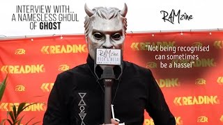 Interview: Nameless Ghoul of Ghost at Reading Festival