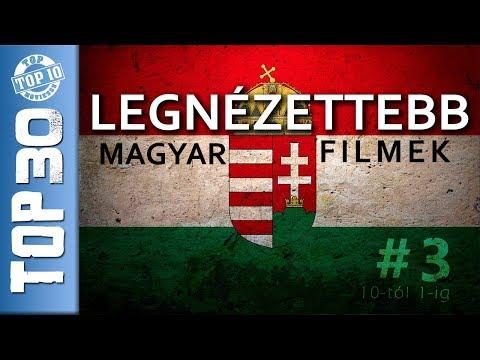 #3 TOP 30 Legnézettebb magyar filmek # 3. RÉSZ - 10-tól 1-ig