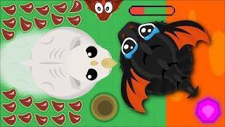 MOPE.IO WHITE RHINO KILLING BIG ANIMALS! BEST MOPE.IO TROLLING EVER! (Mopeio Funny Moments)