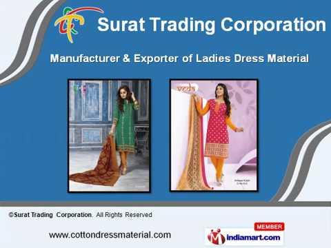 Ladies Dress Material By Surat Trading Corporation, Surat