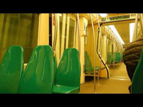 Ritje met RET metro type MG2/1 wagen 5312 (Leuvehaven - Rijnhaven Rotterdam) subway ride