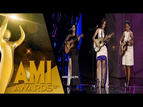 "Wizzy, Lala, Sheryl ""AADC, Laskar Pelangi, Ngobrol Diwarung Kopi"" [AMI Awards 2016] [28 Sept 2016]"