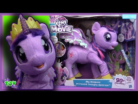 My Little Pony MAGICAL PRINCESS TWILIGHT SPARKLE Giant Talking Toy Review