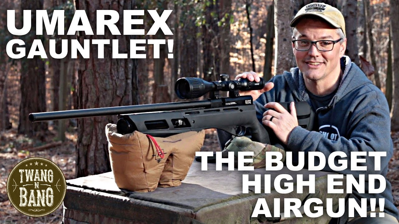 Umarex Gauntlet! The Budget High End Airgun