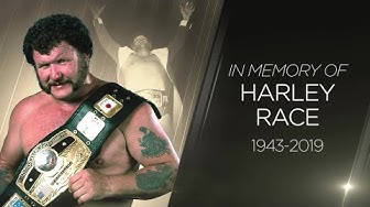 WWE honors the memory of Harley Race