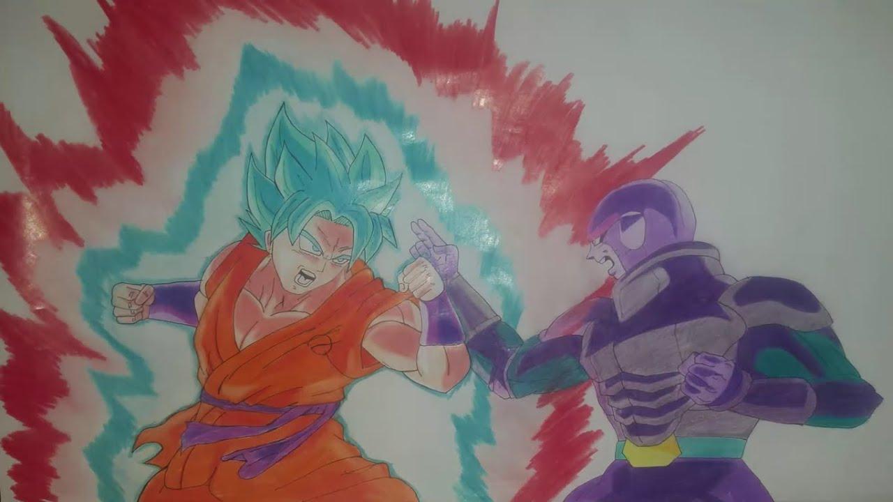 Dibujos De Goku Ssj Dios Azul