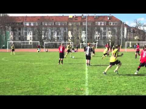 BSC Old Boys Juniorinnen B - SV Muttenz, 13.4.2013