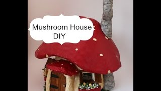 Make A Mushroom House