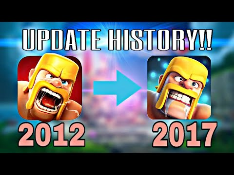 Clash Of Clans Update History (2012 TO 2017) / Very Interesting 😀!!