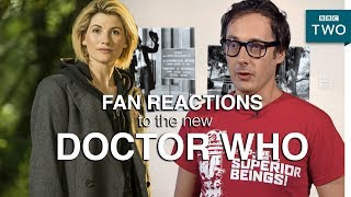 Fan reactions to Jodie Whittaker as next Doctor Who - The Mash Report: Series 1 Episode 1 - BBC Two