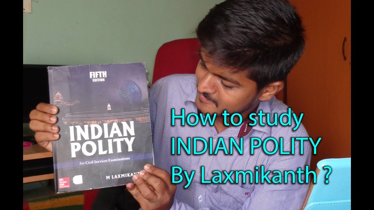 How to study indian polity by laxmikant || Indian Polity for upsc